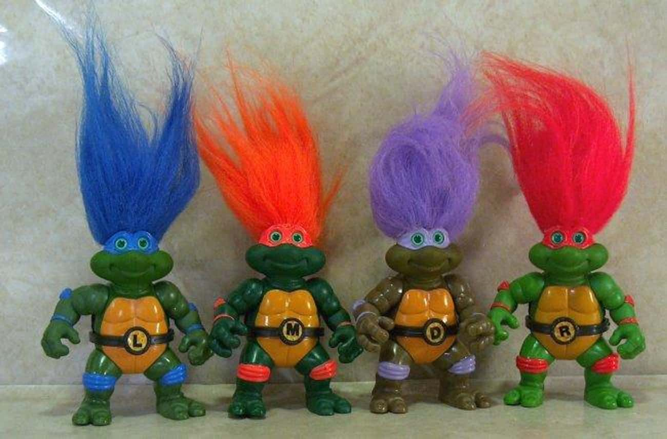 Turtle Trolls is listed (or ranked) 1 on the list The Worst Ninja Turtles Action Figures Ever Made