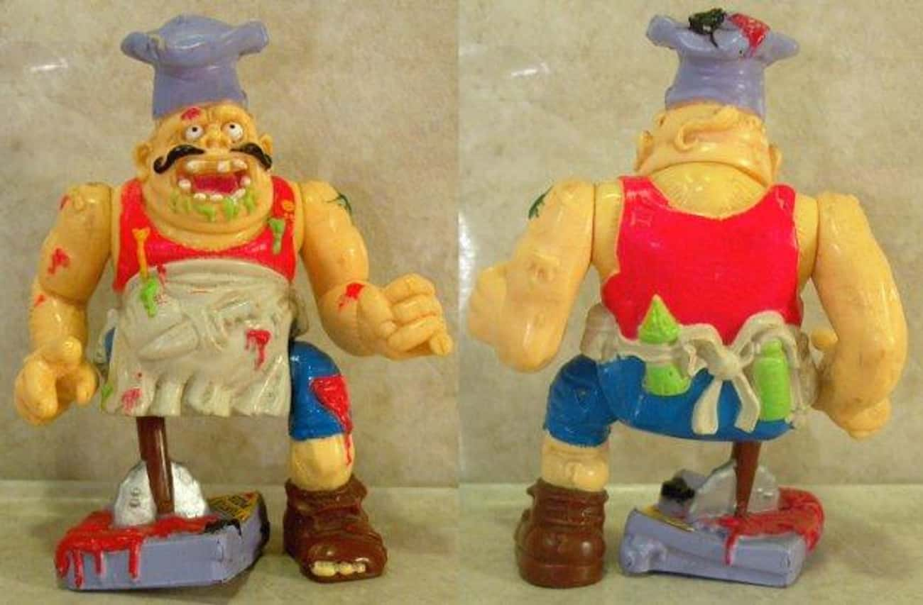 Pizzaface is listed (or ranked) 2 on the list The Worst Ninja Turtles Action Figures Ever Made