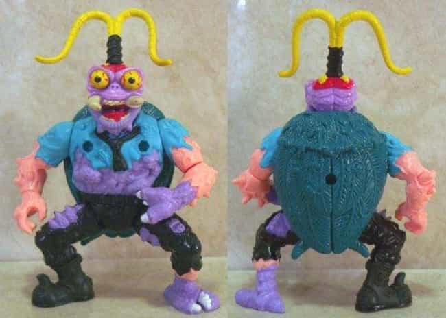 Scumbug is listed (or ranked) 4 on the list The Worst Ninja Turtles Action Figures Ever Made