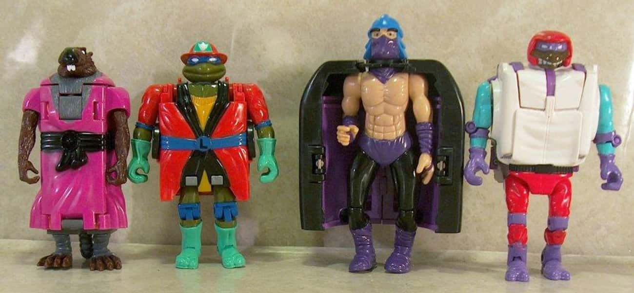 Road Ready Mutations is listed (or ranked) 4 on the list The Worst Ninja Turtles Action Figures Ever Made
