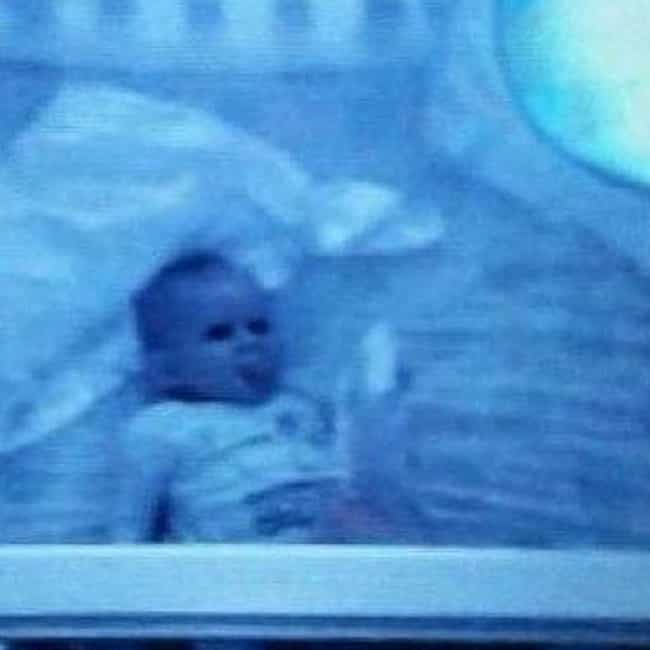 That Awkward Moment When Baby Is Staring At You... From Another Room