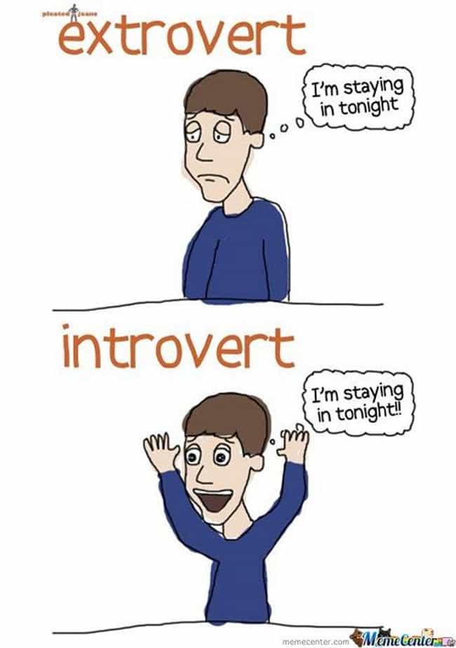 introvert dating an extrovert reddit