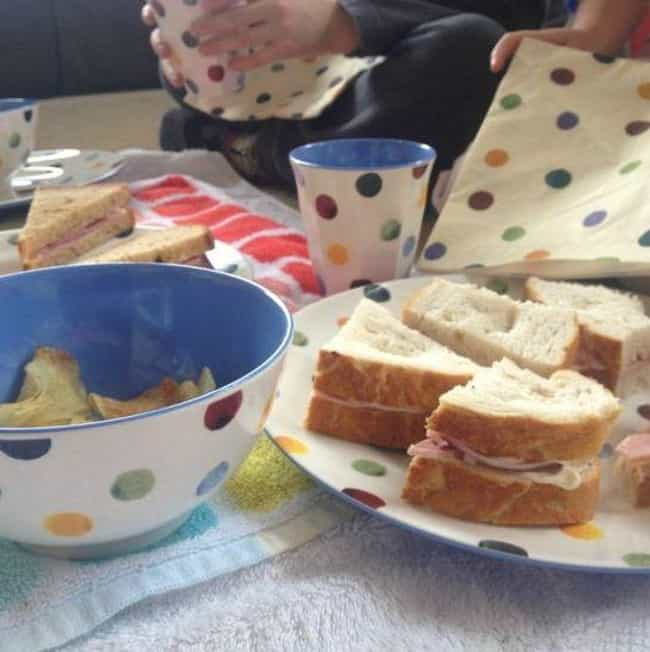 Have an Indoor Picnic is listed (or ranked) 2 on the list Good Activities for 5 Year Olds