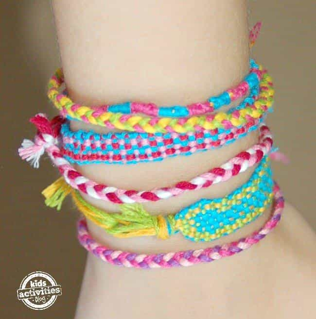 Friendship Bracelets is listed (or ranked) 4 on the list Good Crafts for Five Year Olds