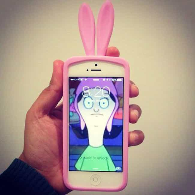 Genius Use of an iPhone Case is listed (or ranked) 2 on the list Bob's Burgers Jokes Only Fans Will Understand
