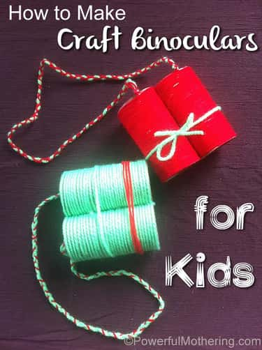 Craft Binoculars is listed (or ranked) 2 on the list Good Crafts for Five Year Olds
