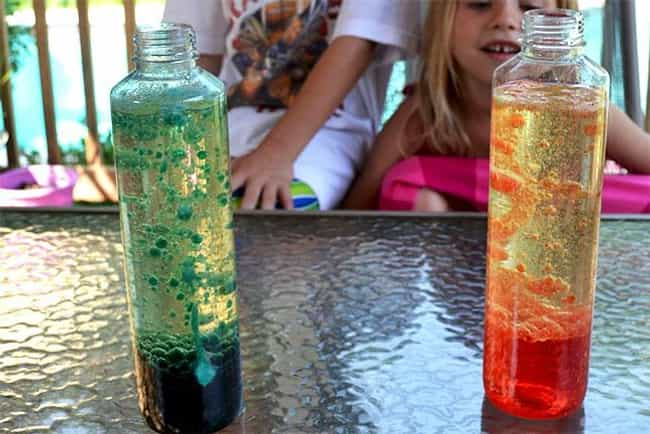 DIY Lava Lamp is listed (or ranked) 1 on the list Good Crafts for 6 Year Olds