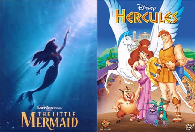 Ariel And Hercules Are C... is listed (or ranked) 1 on the list Weirdly Persuasive Fan Theories About Disney Animated Movies