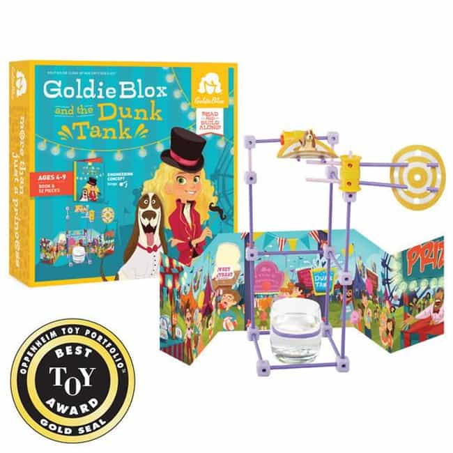 GoldieBlox and the Dunk ... is listed (or ranked) 4 on the list Girl Power Toys Feminists Can Feel Good About