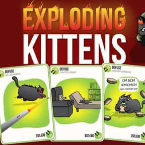 Exploding Kittens is listed (or ranked) 6 on the list The Most Popular & Fun Card Games
