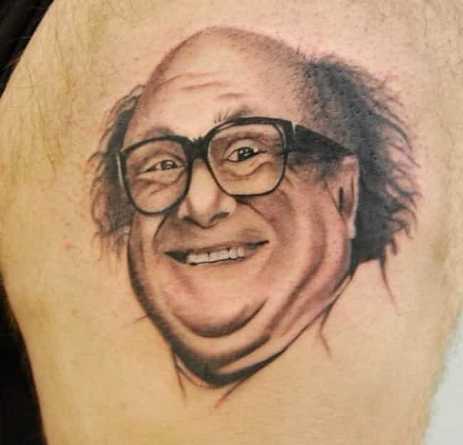 His Mind Is as Sharp as a... U... is listed (or ranked) 4 on the list 33 Epic Always Sunny Tattoos That Demonstrate Value