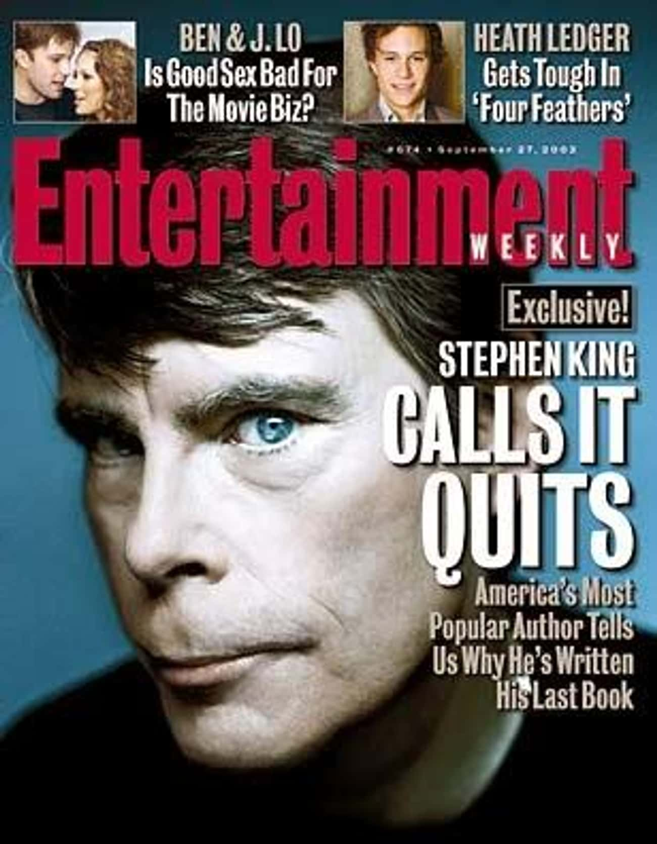 His Retirement Was Short-Lived is listed (or ranked) 4 on the list 28 Things You Didn't Know About Stephen King