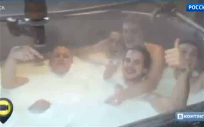 Cheese Factory Employees Bathe... is listed (or ranked) 1 on the list Seriously, These Are the Worst Employees EVER