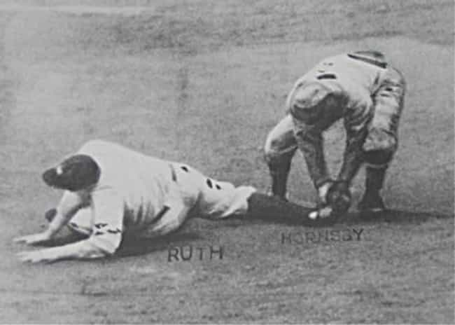 Babe Ruth gets caught tr... is listed (or ranked) 4 on the list Embarrassing Yankees Moments That Haters Love to Bring Up