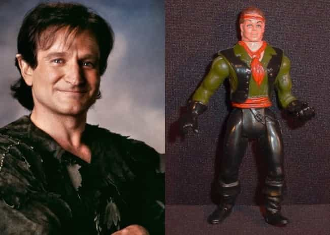 Peter Pan - Hook is listed (or ranked) 2 on the list 18 Tie-In Toys That Look Nothing Like Big Stars