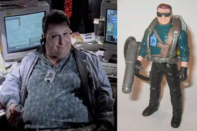 Dennis Nedry - Jurassic ... is listed (or ranked) 1 on the list 18 Tie-In Toys That Look Nothing Like Big Stars