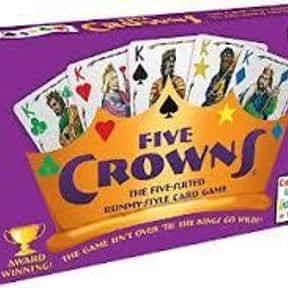 Five Crowns is listed (or ranked) 25 on the list The Best Family Board Games
