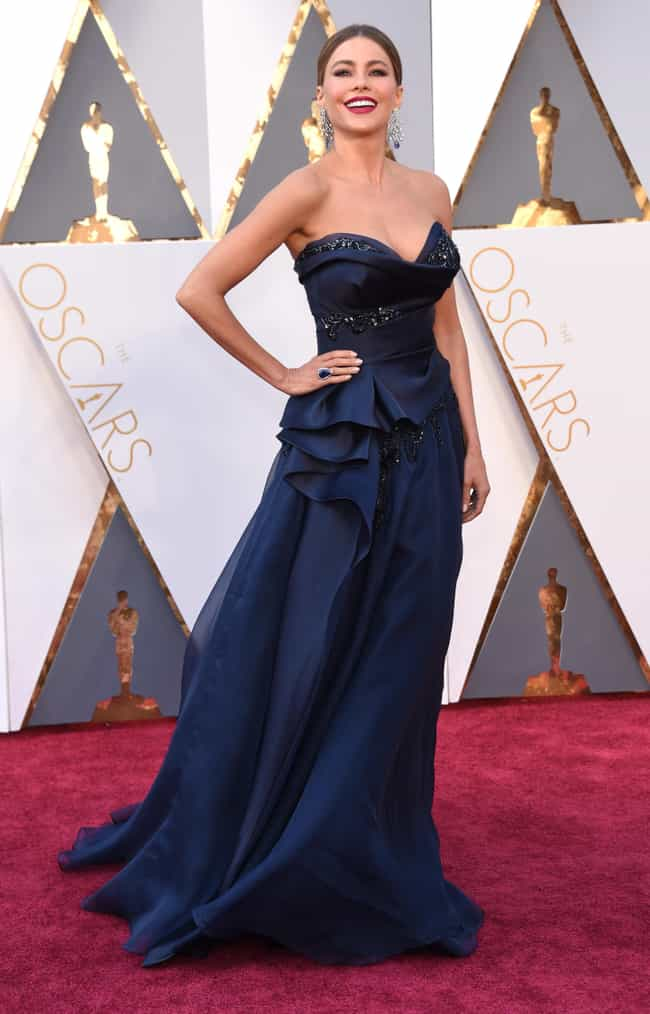 Sofia Vergara is listed (or ranked) 1 on the list The Worst Dressed at the 2016 Oscars