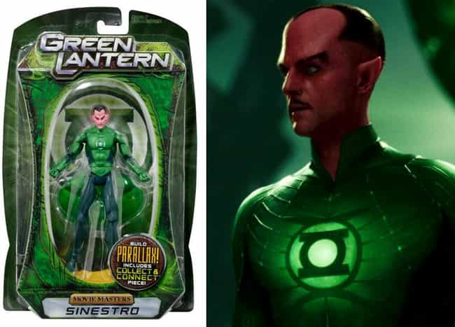 Green Lantern is listed (or ranked) 2 on the list Toy Lines That Are Better Than the Movies They're Based on