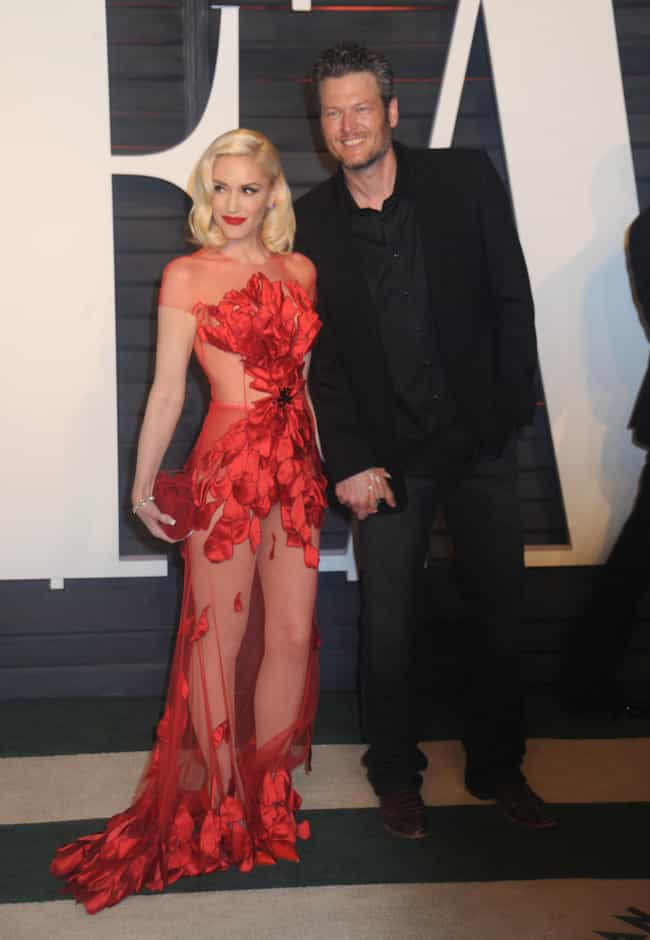 Gwen Stefani Makes Everyone Ne... is listed (or ranked) 2 on the list The Most Shockingly Over-the-Top Celebrity Sheer Dresses