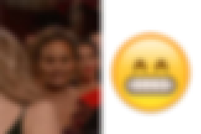 Chrissy Teigen grimacing for S... is listed (or ranked) 1 on the list Oscar Celebs Who Looked Like Emojis