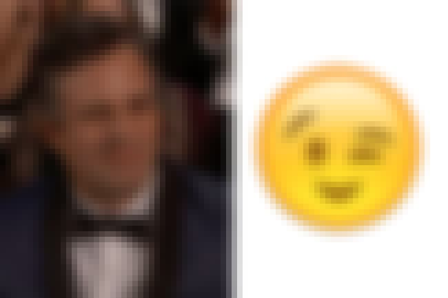 Ruffalo slaying the ladies is listed (or ranked) 3 on the list Oscar Celebs Who Looked Like Emojis