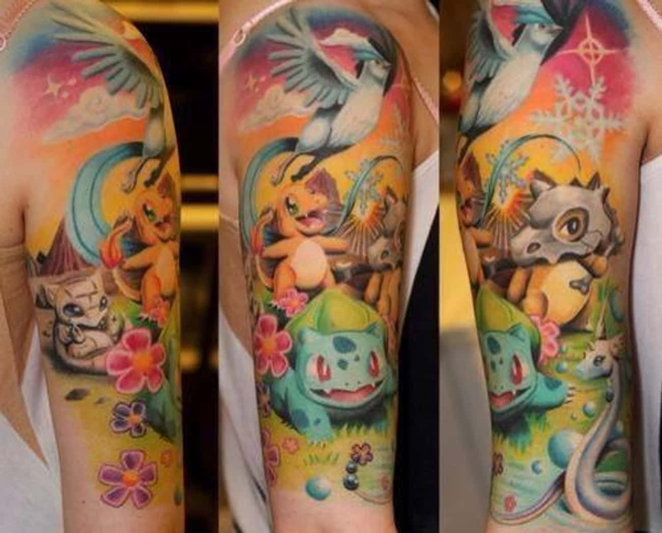 Just Flex, Bro!! is listed (or ranked) 2 on the list 25 Tattoos Inspired by Pokemon