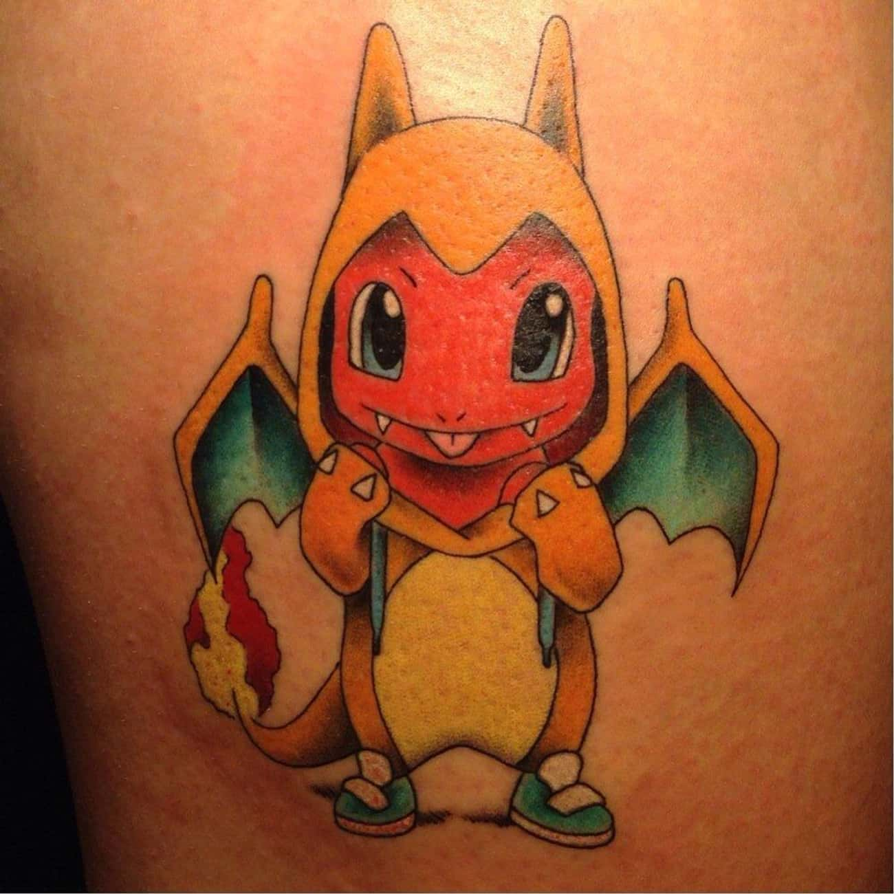 This Charmander WILL Be a Char is listed (or ranked) 4 on the list 25 Tattoos Inspired by Pokemon