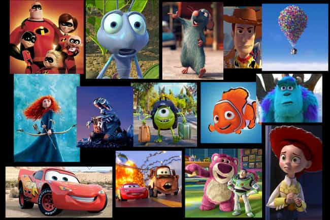 14 Pixar Movies Take Place in ... is listed (or ranked) 1 on the list 20 Pixar Movie Theories That Make A Surprising Amount Of Sense
