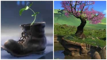 The Tree Sapling in WALL-E Bec is listed (or ranked) 2 on the list 20 Pixar Movie Theories That Make A Surprising Amount Of Sense