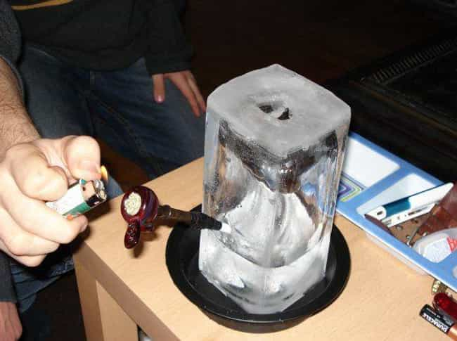 Ice Ice Baby is listed (or ranked) 1 on the list Awesomely Weird Homemade Bongs That'll Trip You Out