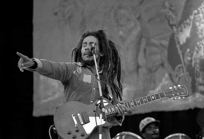 The CIA Killed Bob Marley is listed (or ranked) 4 on the list 20 Crazy Celebrity Conspiracy Theories