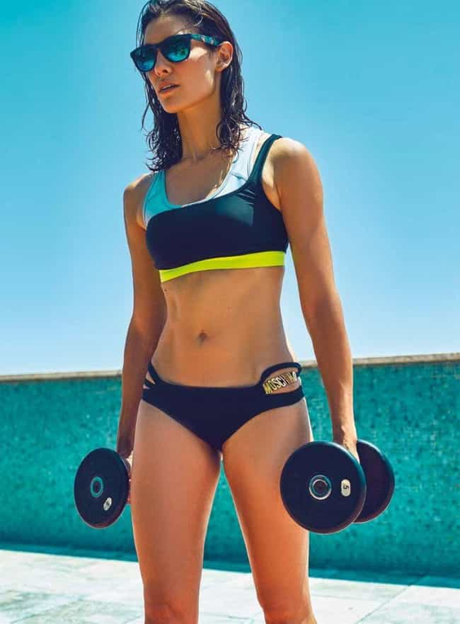 Daniela Ruah Doing Some Work Out