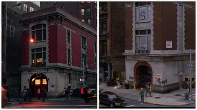 The Firehouse Is Ghostbu... is listed (or ranked) 1 on the list The Most Ghostbusters Moments in the Reboot Trailer