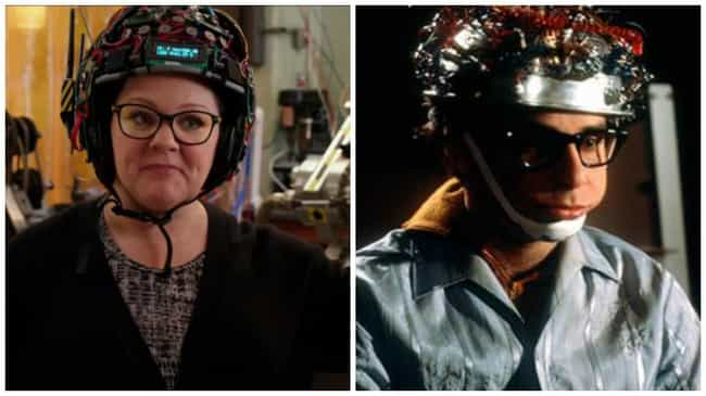 Louis's Headgear Reappea... is listed (or ranked) 4 on the list The Most Ghostbusters Moments in the Reboot Trailer