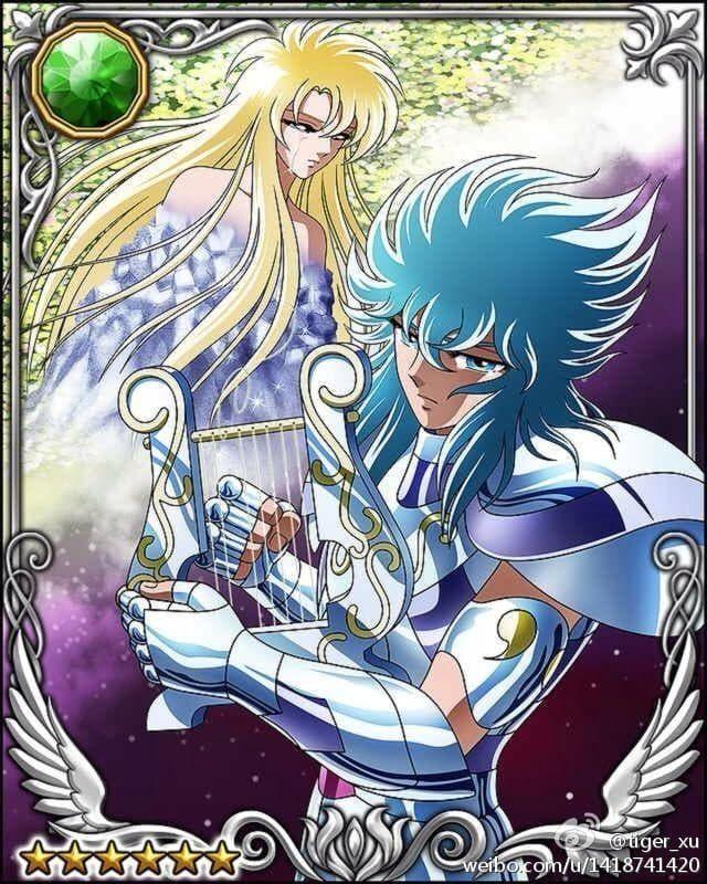 Orpheus on Random Saint Seiya Characters