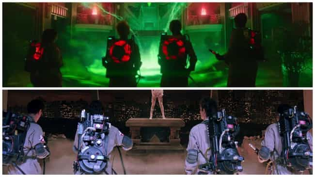 This Reverse Shot of the... is listed (or ranked) 2 on the list The Most Ghostbusters Moments in the Reboot Trailer