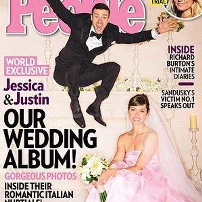 Justin Timberlake and Jessica ... is listed (or ranked) 2 on the list Celebrity Weddings: 2012 Famous Marriages List