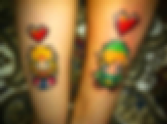 Tatted Together Forever is listed (or ranked) 3 on the list Tattoos Inspired by the Legend of Zelda