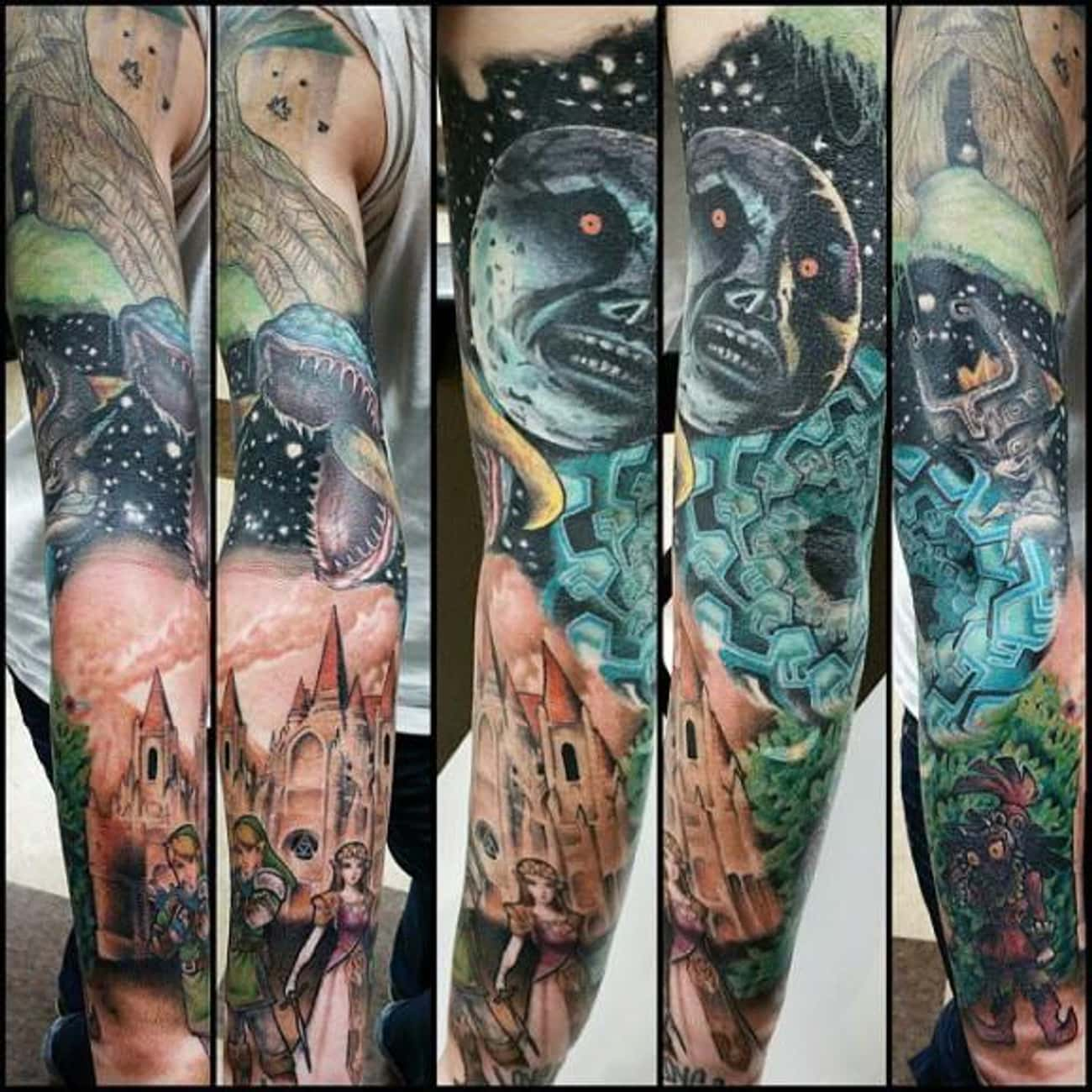 Sleeve of Impending Doom is listed (or ranked) 3 on the list Tattoos Inspired by the Legend of Zelda