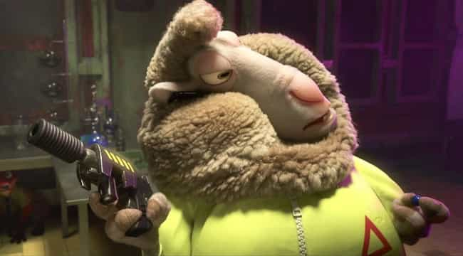 The Sheep Working In The Lab is listed (or ranked) 4 on the list The Most Satisfying Easter Eggs in Zootopia