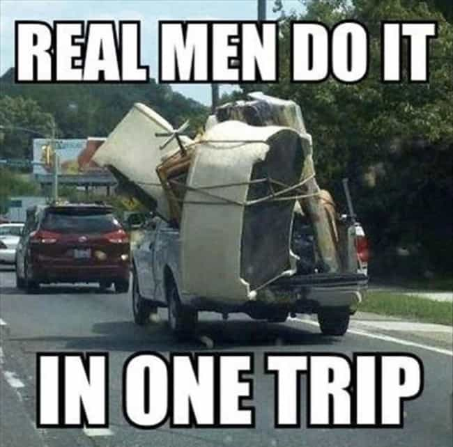 Don't Even Trip is listed (or ranked) 1 on the list 27 Hilarious Moving Day Fails