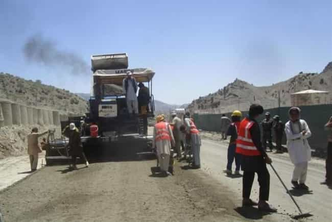 The Khost-Gardez Road Fiasco is listed (or ranked) 4 on the list Shady Stories About Scandalous Military Contractors
