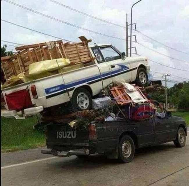 What the Truck!? is listed (or ranked) 4 on the list 27 Hilarious Moving Day Fails