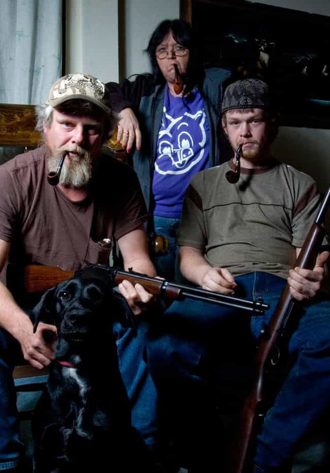Pipe Down, Would Ya! is listed (or ranked) 3 on the list Hilariously Awkward Redneck Portraits