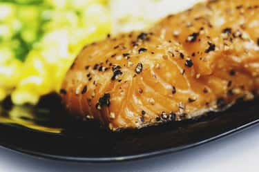 Salmon is listed (or ranked) 2 on the list 12 Foods You Can Cook Perfectly in Your Dishwasher