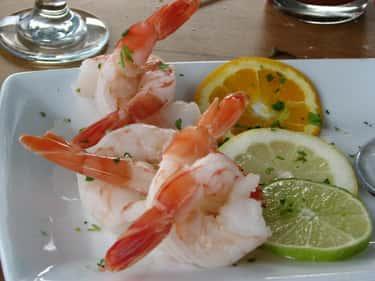 Wine-Poached Shrimp