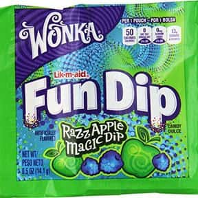 Fun Dip is listed (or ranked) 5 on the list '90s Snacks From Your Childhood You Had No Idea You Can Still Buy