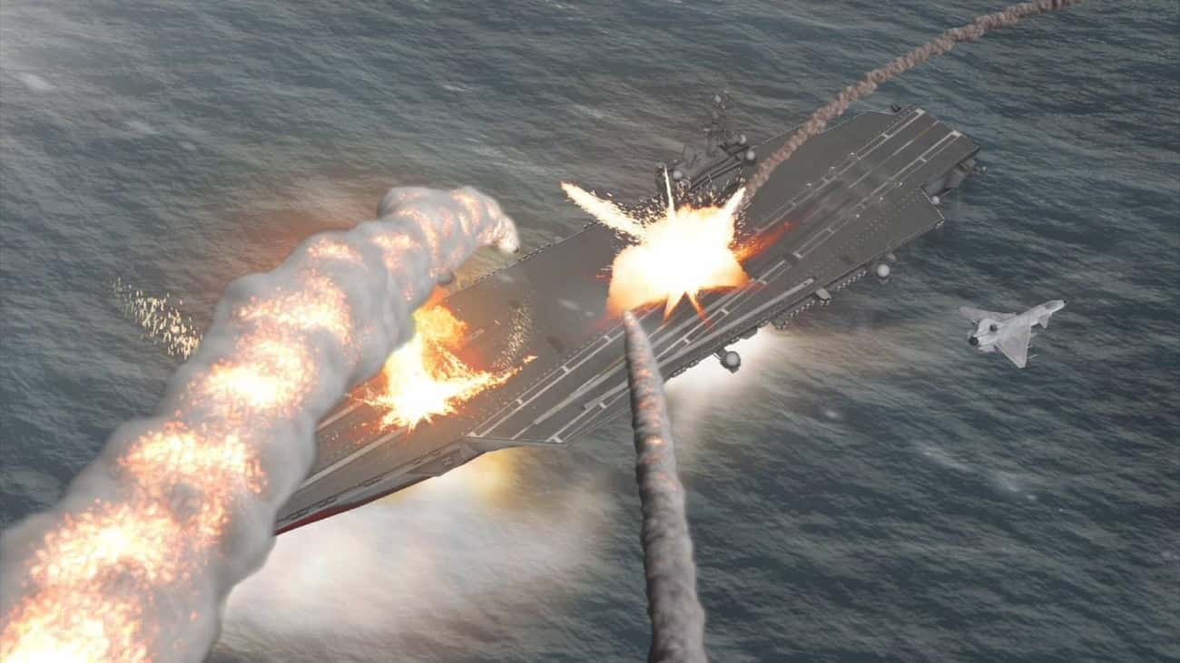 They Have an Anti-Ship Missile is listed (or ranked) 1 on the list Frightening Facts About the Chinese Military