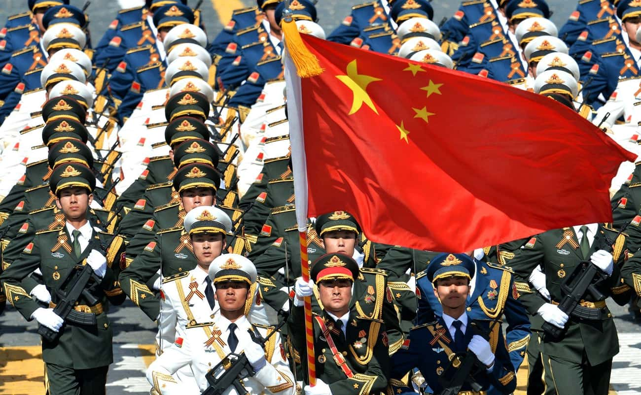 China Has More People in Unifo is listed (or ranked) 3 on the list Frightening Facts About the Chinese Military